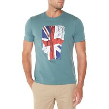 Picture of Short Sleeve Crew Tee Draped Union