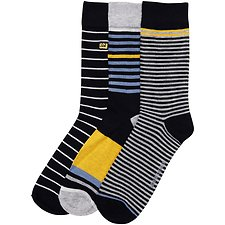 Image of Ben Sherman Australia NAVY POOLGROWRAN 3 PACK SOCKS