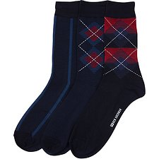 Image of Ben Sherman Australia  ZONDA 3 PACK SOCKS