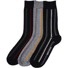 Image of Ben Sherman Australia BLACK PORTRIA 3 PACK SOCKS