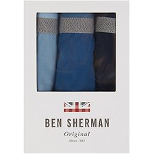 Image of Ben Sherman Australia NAVY WILTON 3 PACK TRUNKS