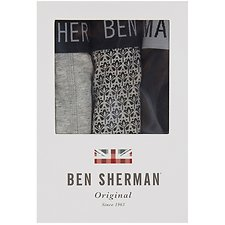 Image of Ben Sherman Australia  WHARTON 3 PACK TRUNKS