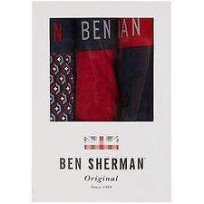 Image of Ben Sherman Australia  WESTON 3 PACK TRUNKS
