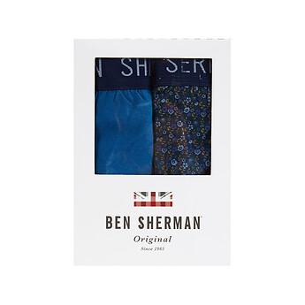 Image of Ben Sherman Australia  WEBSTER 2 PACK TRUNKS