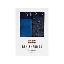 Image of Ben Sherman Australia NAVY WEBSTER 2 PACK TRUNKS
