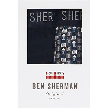 Image of Ben Sherman Australia  WAYNE 2 PACK TRUNKS