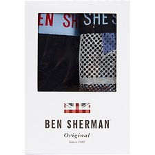 Image of Ben Sherman Australia FLAG WARRICK 2 PACK TRUNKS